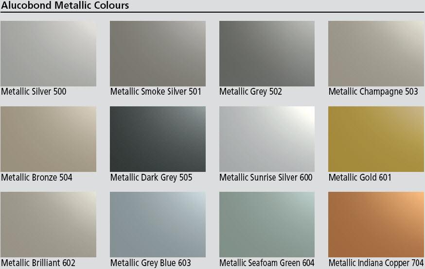 Vision Clad Australia Alucobond Colours